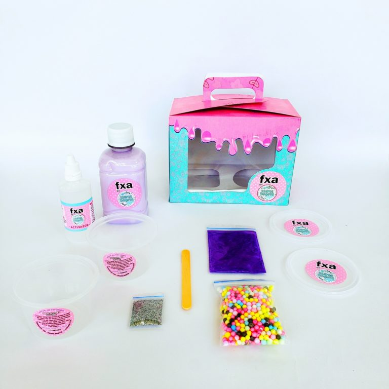 SLIME KIT LILA